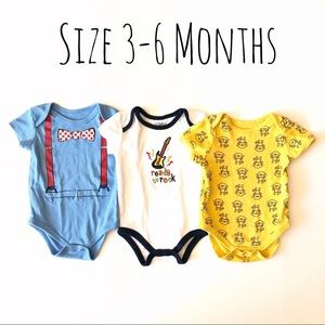 Other - Baby boy 3-6 month bundle of bodysuits